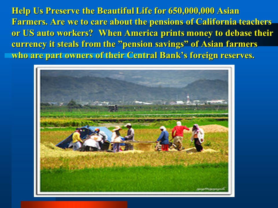 Help Us Preserve the Beautiful Life for 650,000,000 Asian Farmers