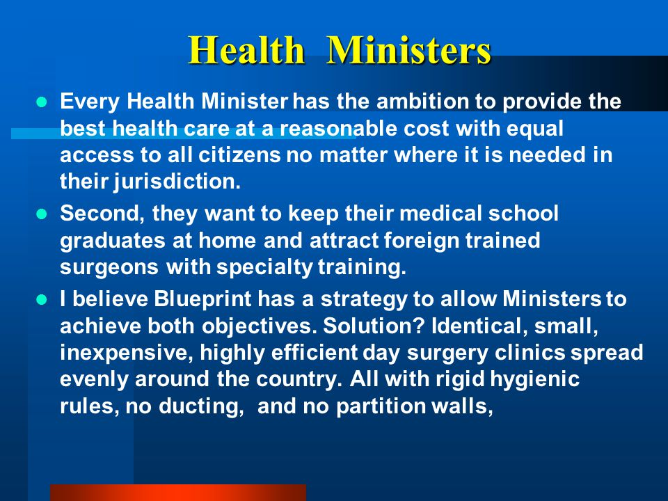 Health Ministers