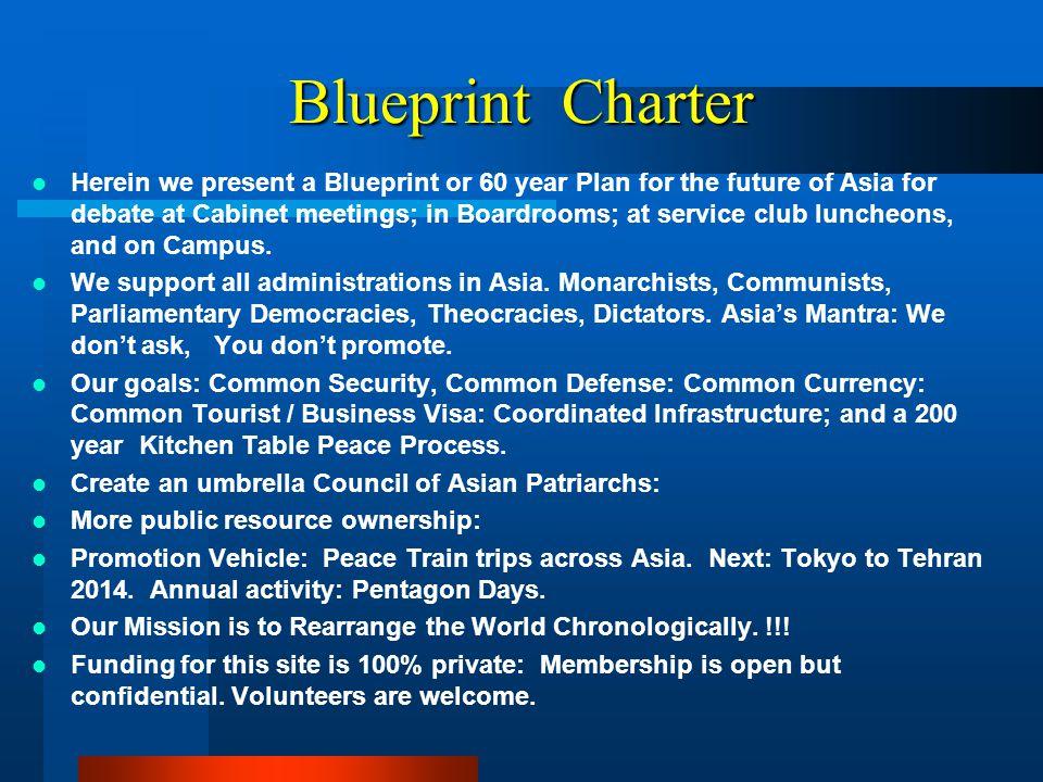 Blueprint Charter