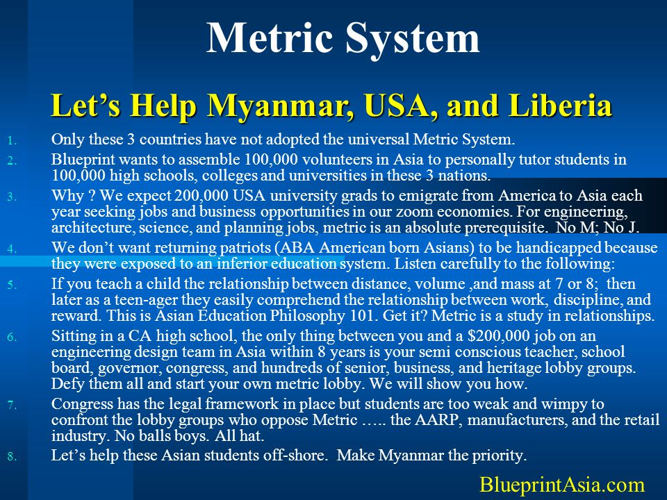 Let's Help Myanmar, USA, and Liberia