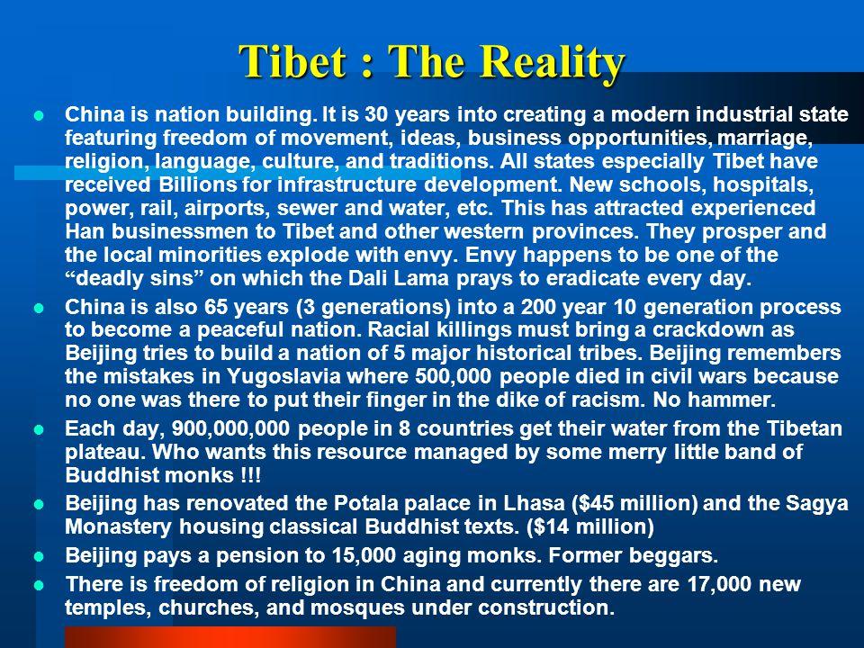 Tibet : The Reality
