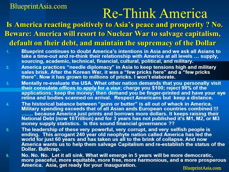 Re-Think America BlueprintAsia.com