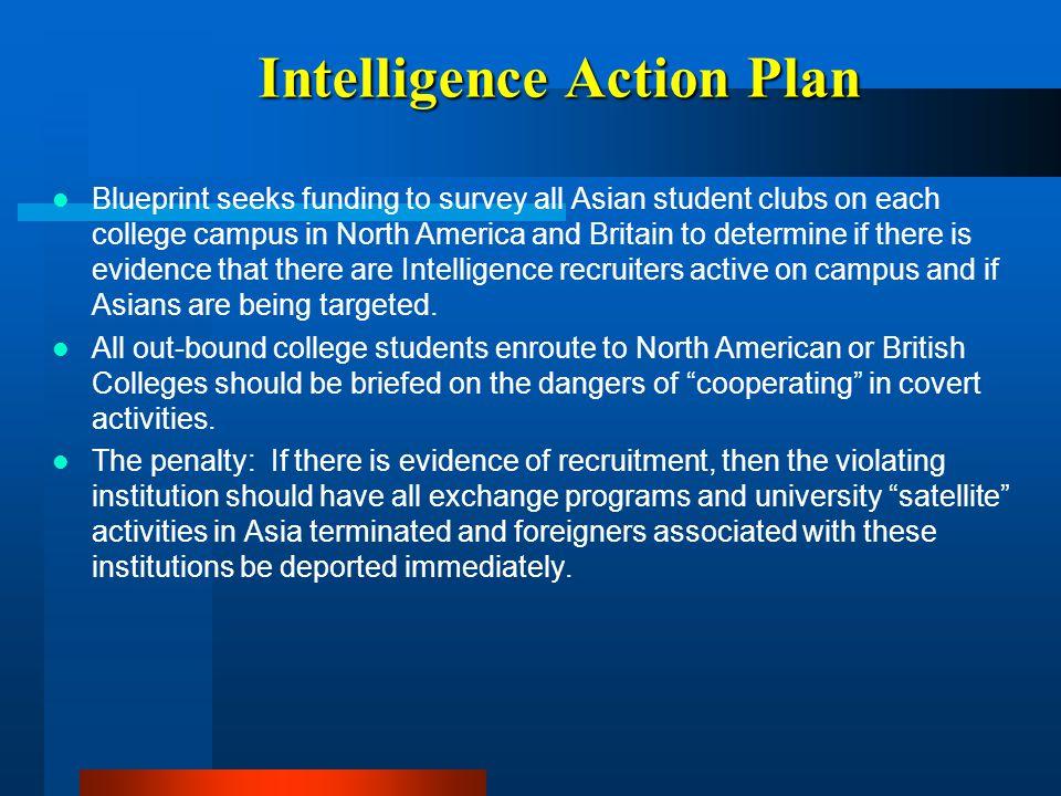 Intelligence Action Plan
