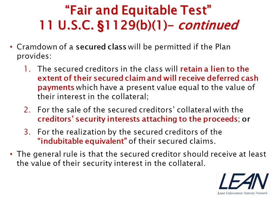 Fair and Equitable Test