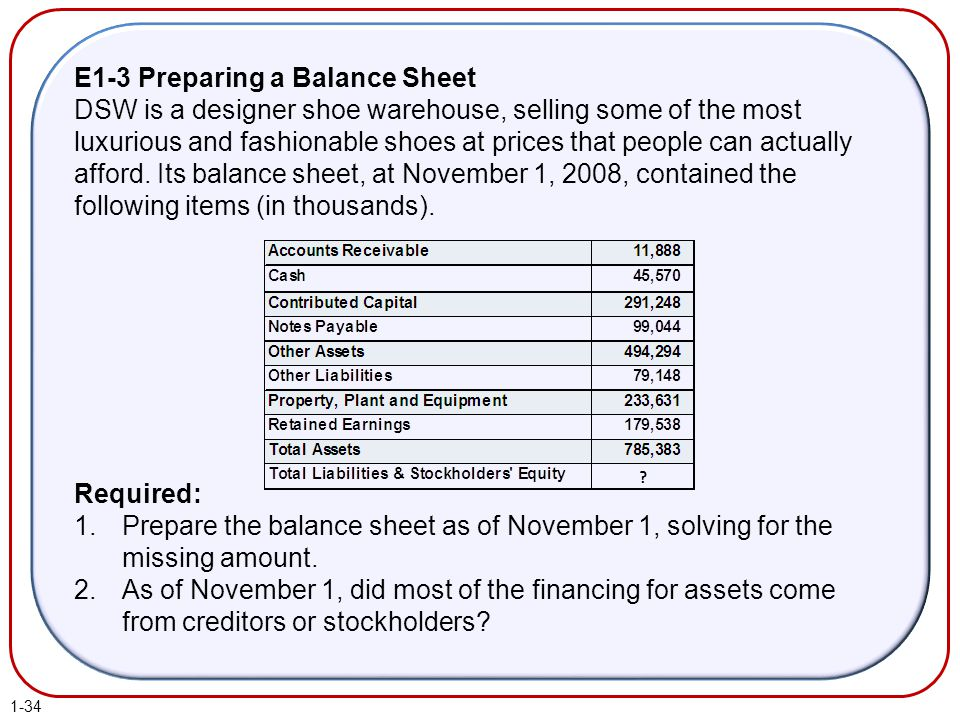 Fundamentals of Financial Accounting 3e by Phillips Libby and – Prepare a Balance Sheet