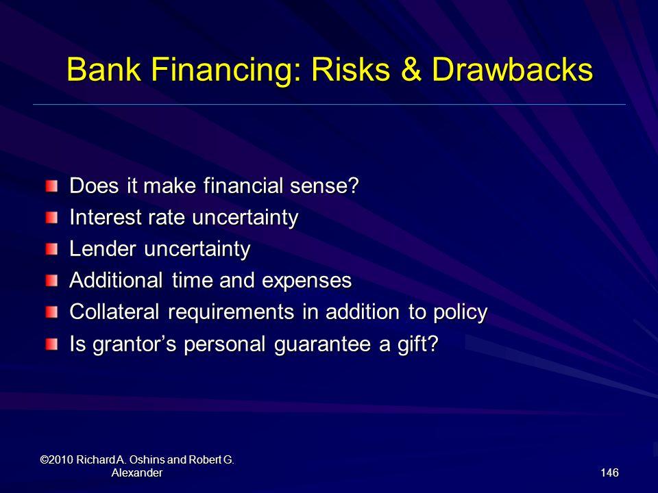 Bank Financing: Risks & Drawbacks