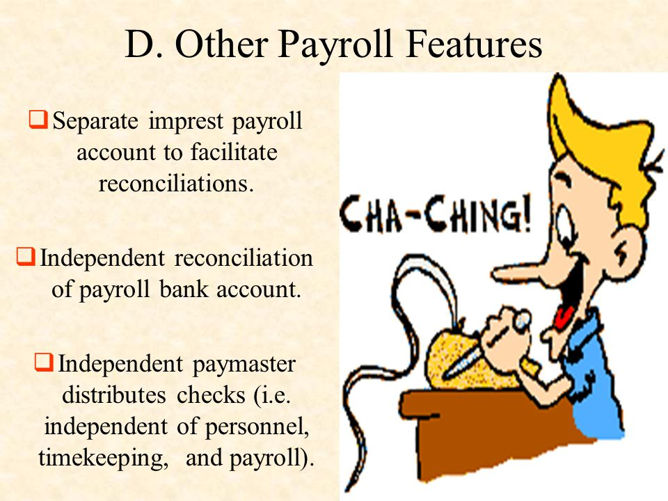 D. Other Payroll Features