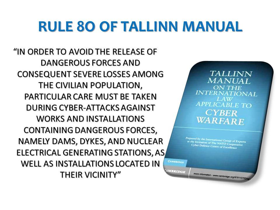 RULE 8O OF TALLINN MANUAL