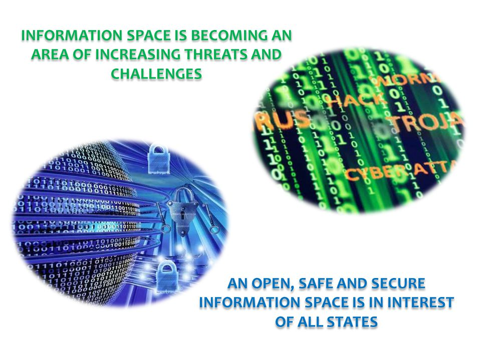 INFORMATION SPACE IS BECOMING AN AREA OF INCREASING THREATS AND CHALLENGES