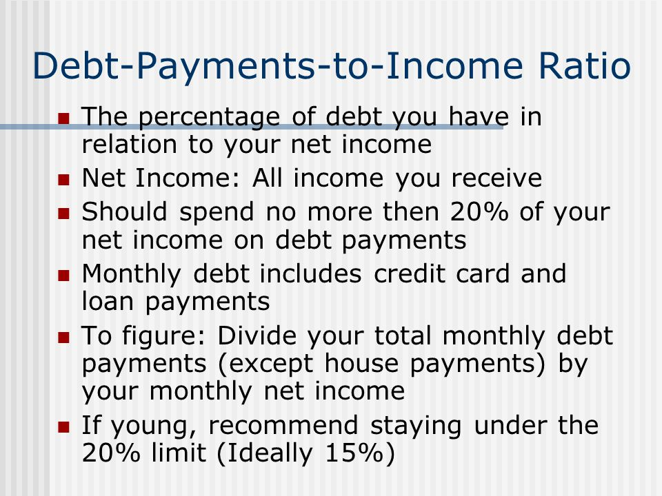 Debt-Payments-to-Income Ratio
