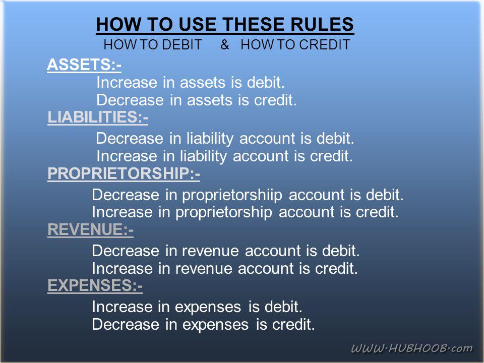 Increase in expenses is debit. Decrease in expenses is credit.