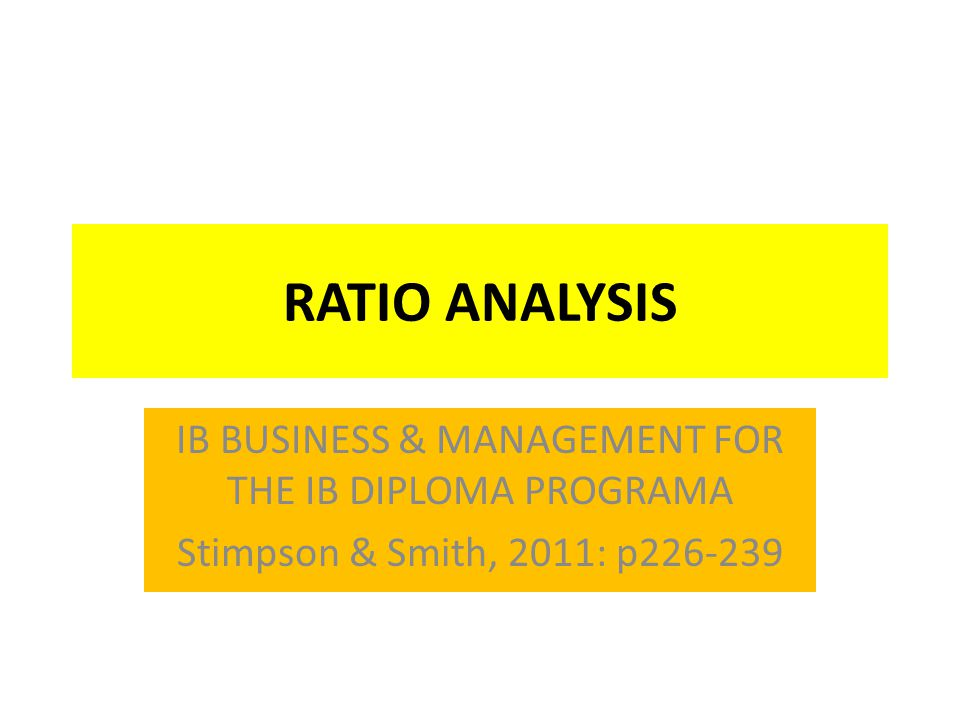 IB BUSINESS & MANAGEMENT FOR THE IB DIPLOMA PROGRAMA