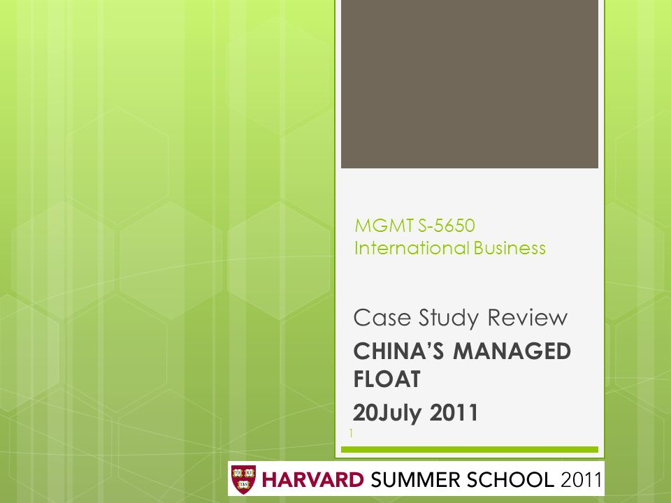 MGMT S-5650 International Business