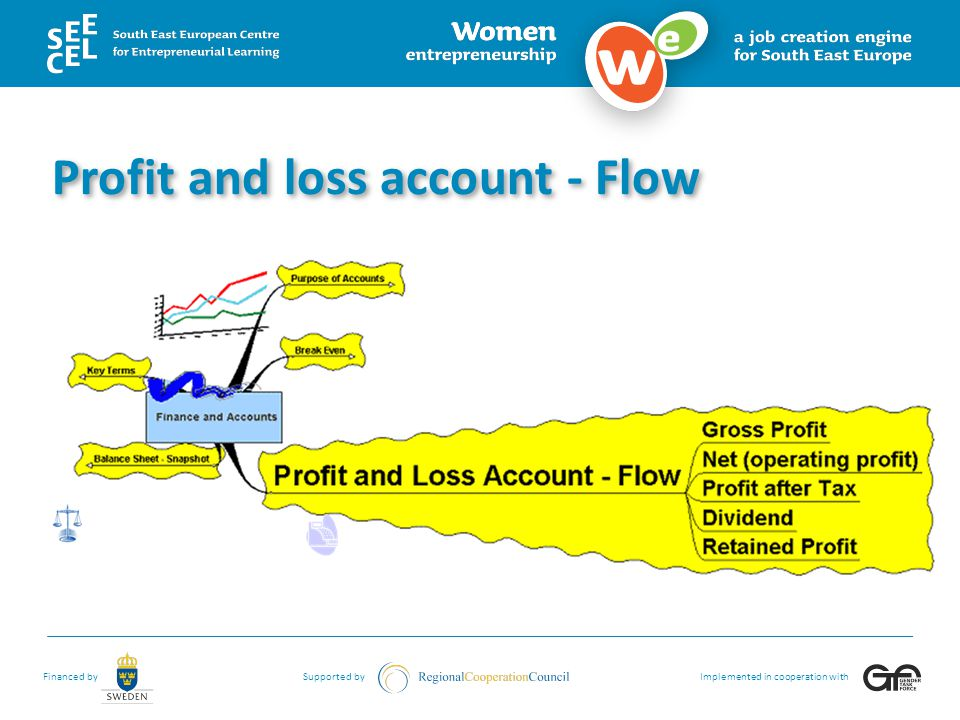 Profit and loss account - Flow