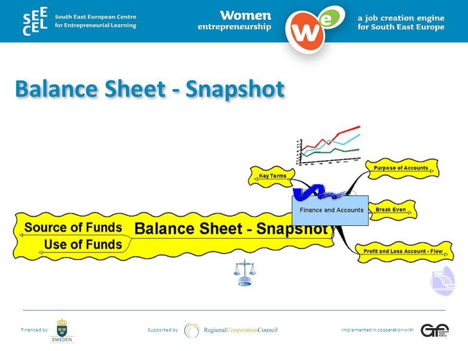 Balance Sheet - Snapshot