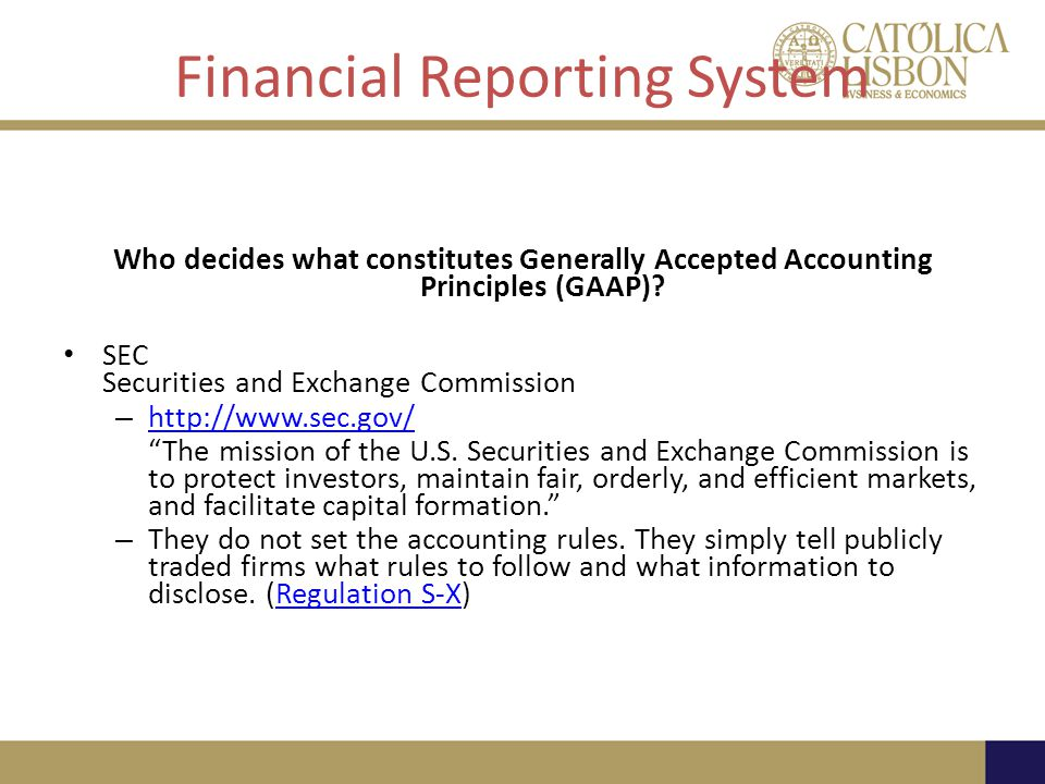 Financial Reporting System