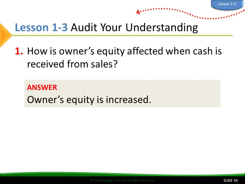 Lesson 1-3 Audit Your Understanding