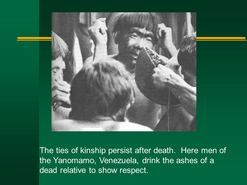The ties of kinship persist after death