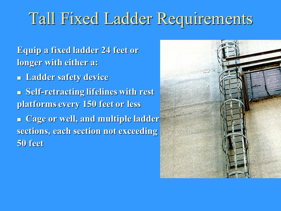 Ladder Safety And Aerial Lifts Ppt Video Online Download