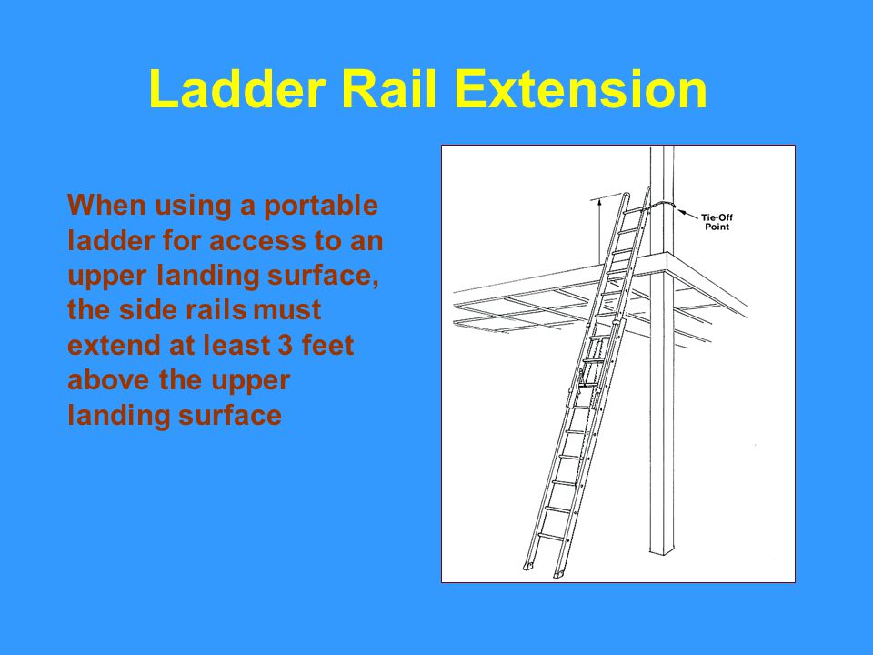 Ladder Rail Extension