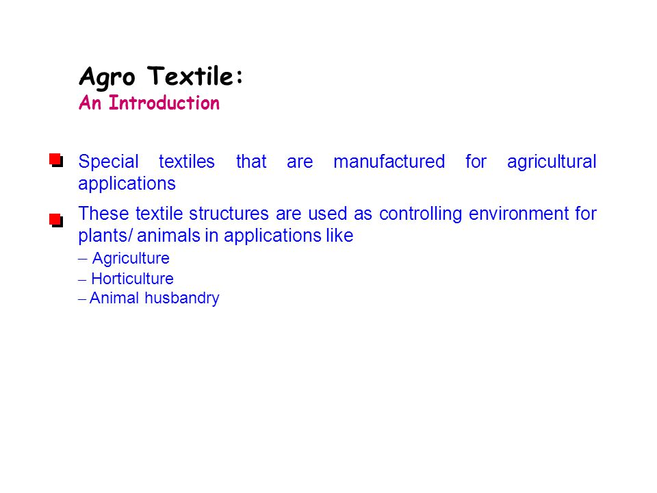 Agro Textile: An Introduction