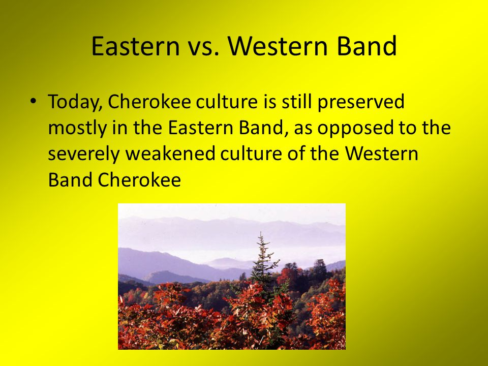 Eastern vs. Western Band