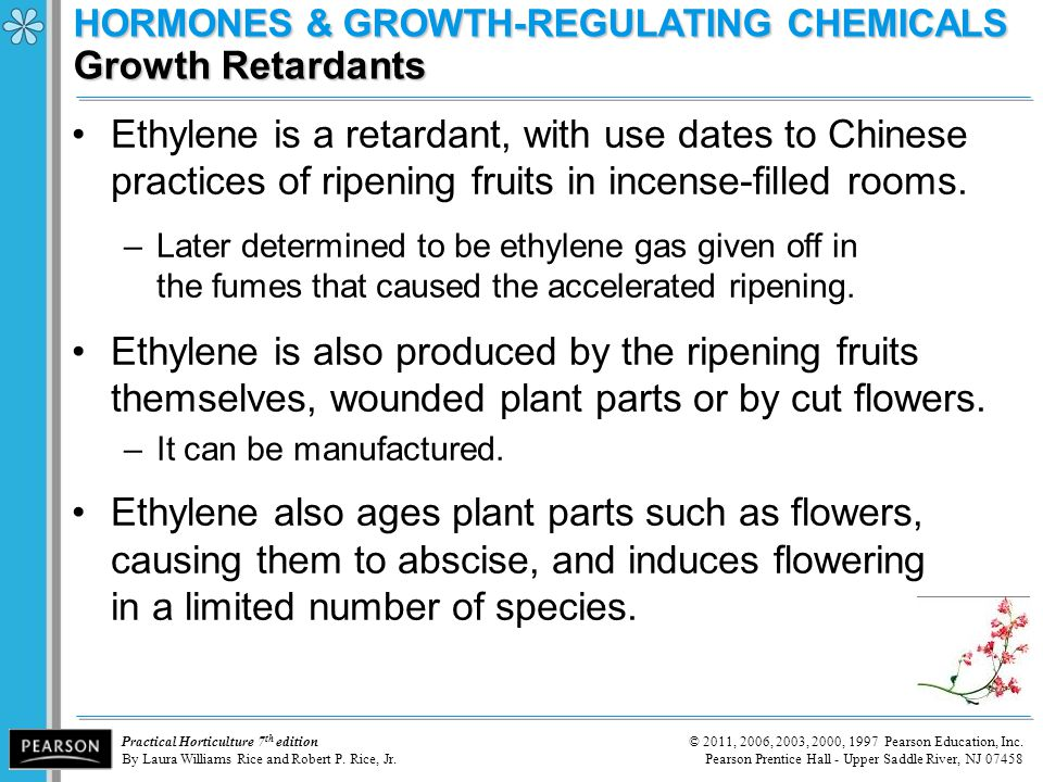 HORMONES & GROWTH-REGULATING CHEMICALS Growth Retardants