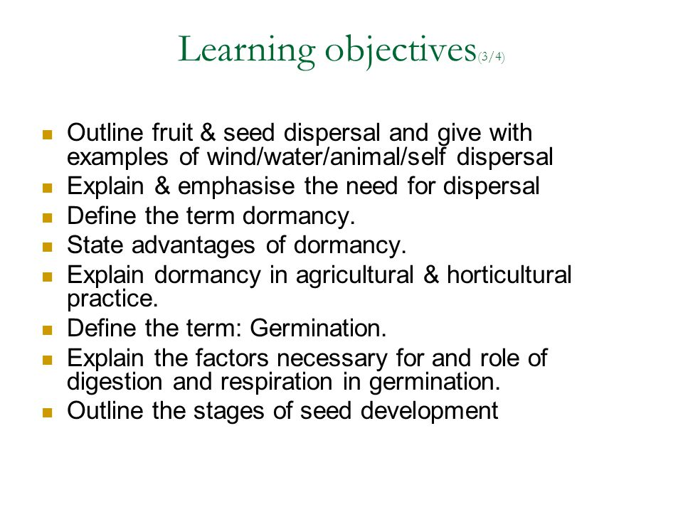 Learning objectives(3/4)