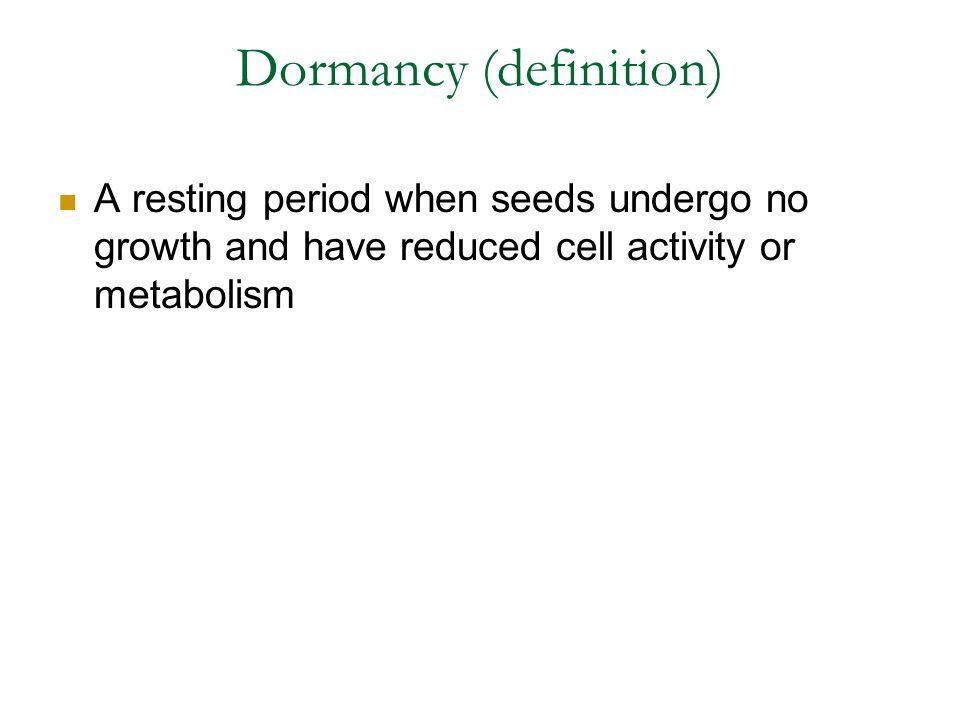 Dormancy (definition)