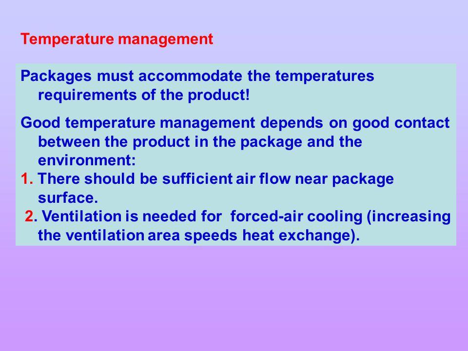 Temperature management