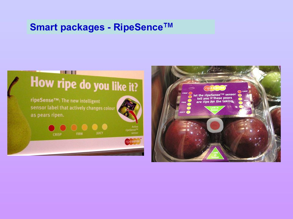 Smart packages - RipeSenceTM