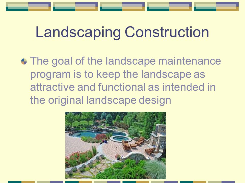 Landscaping Construction