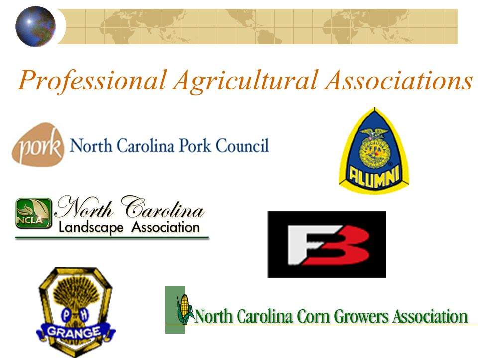 Professional Agricultural Associations