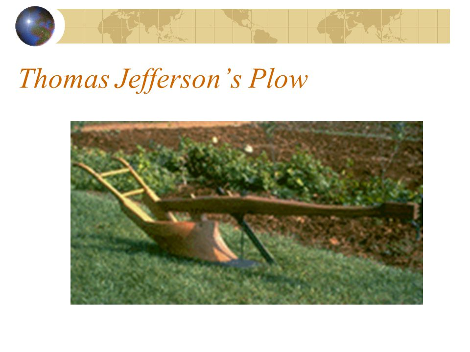 Thomas Jefferson's Plow