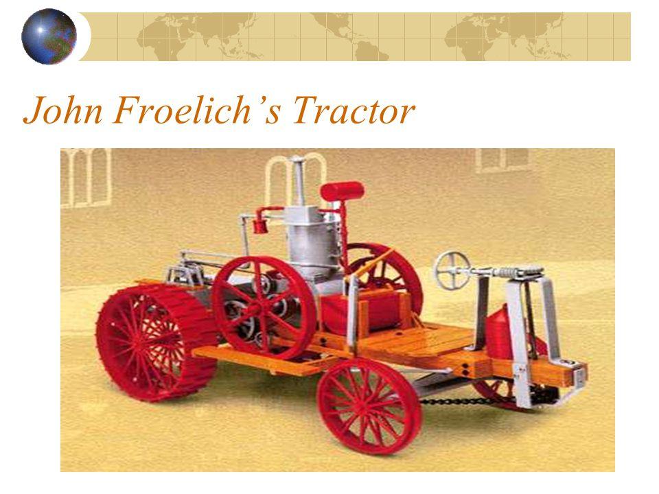 John Froelich's Tractor