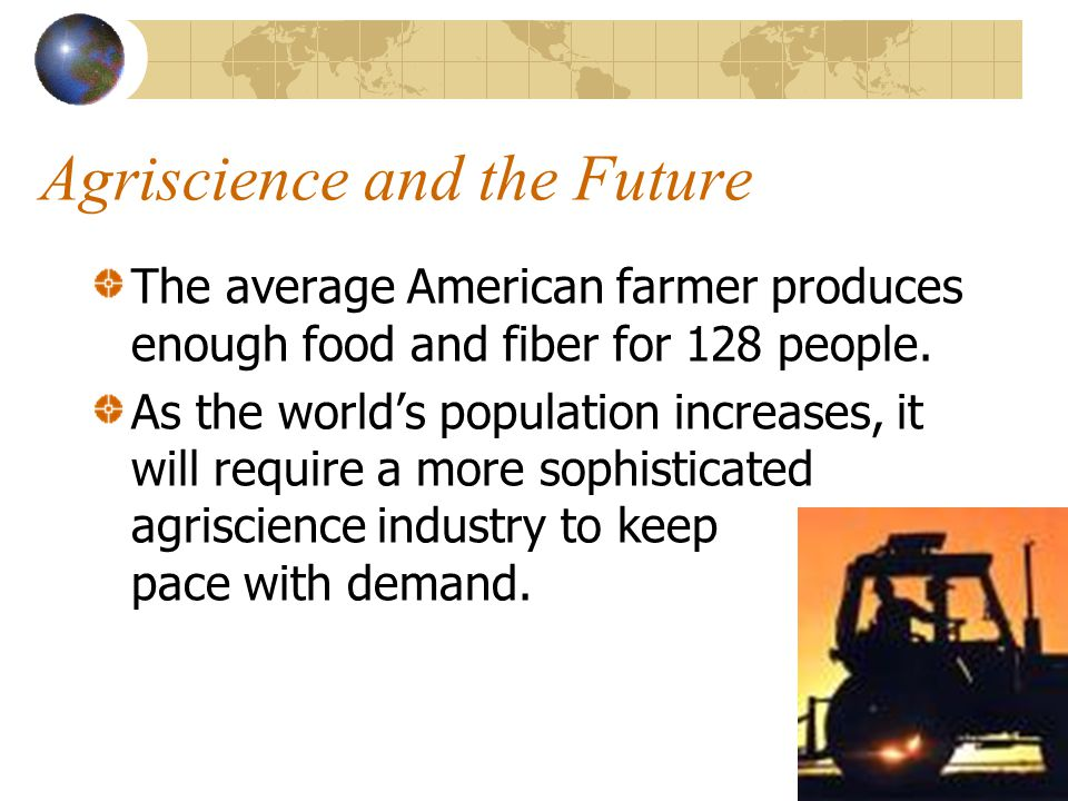 Agriscience and the Future