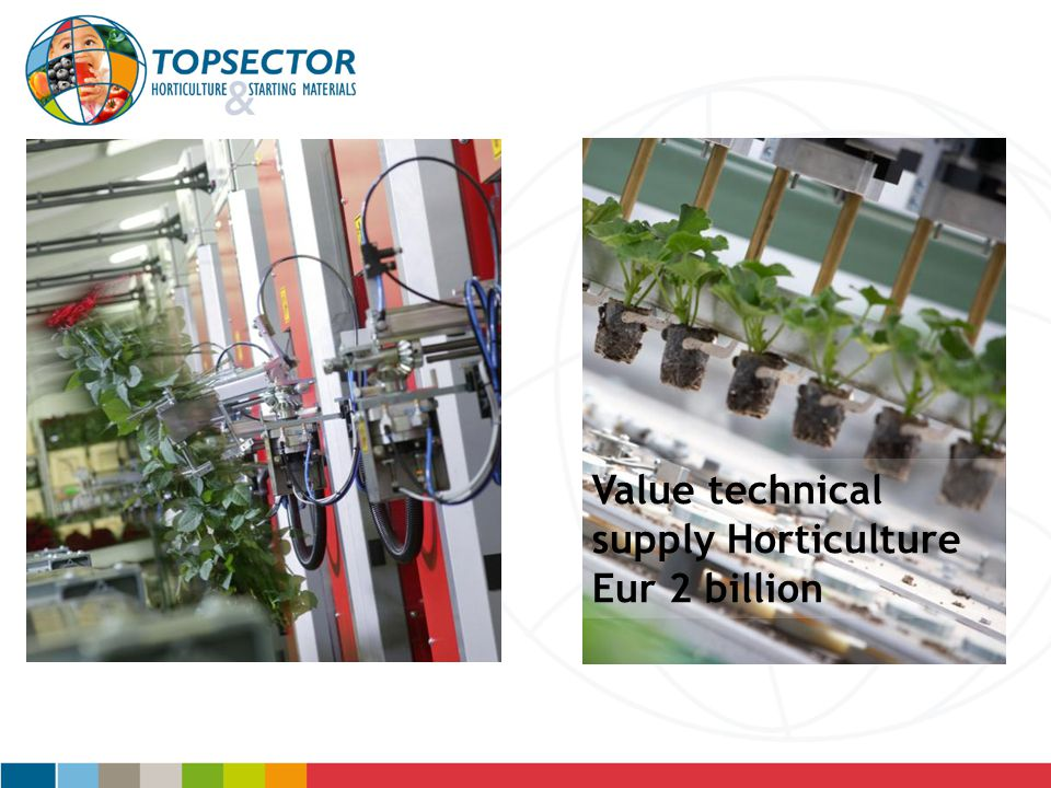 Value technical supply Horticulture Eur 2 billion