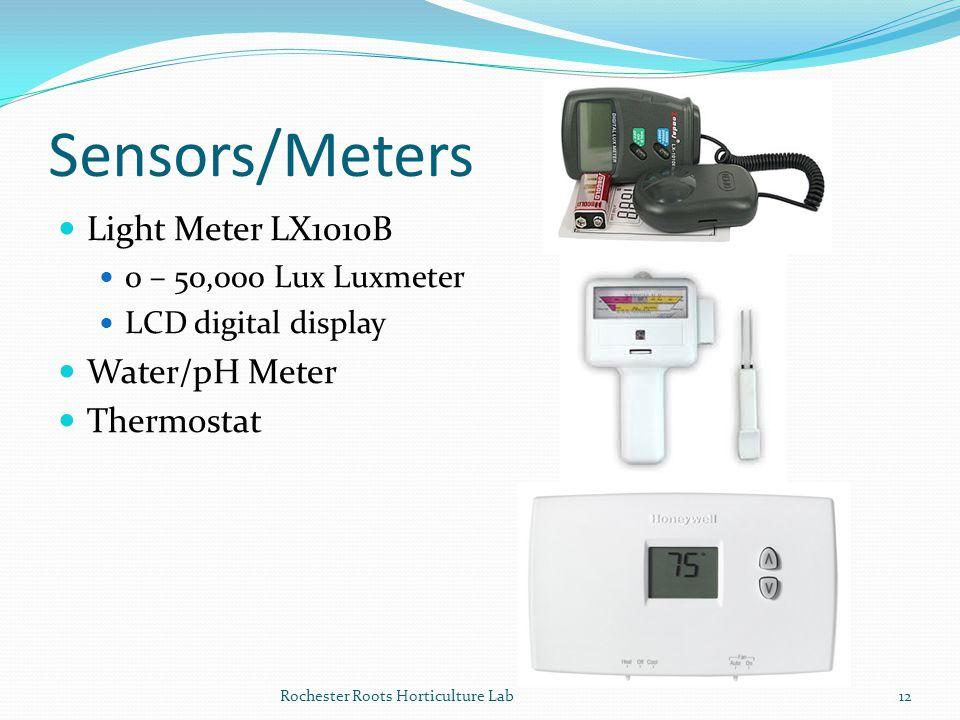 Sensors/Meters Light Meter LX1010B Water/pH Meter Thermostat