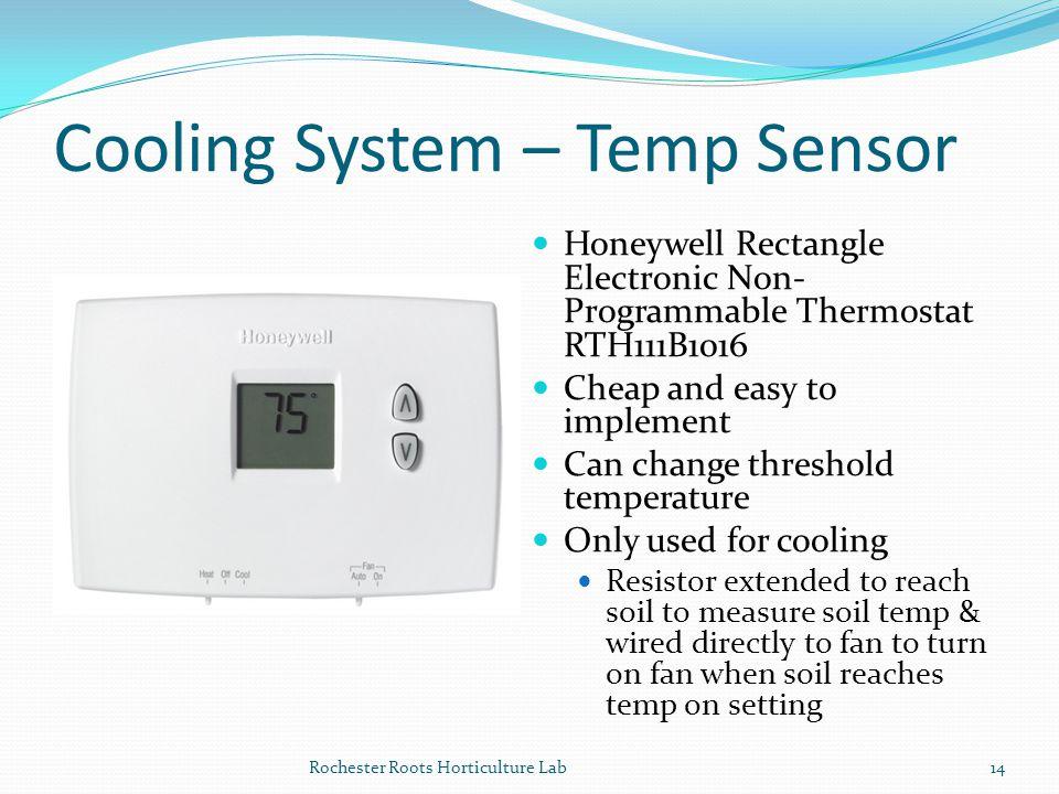 Cooling System – Temp Sensor