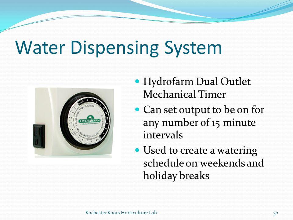 Water Dispensing System