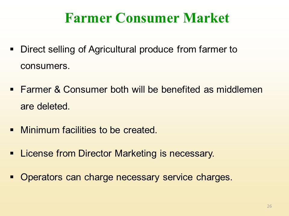 Farmer Consumer Market
