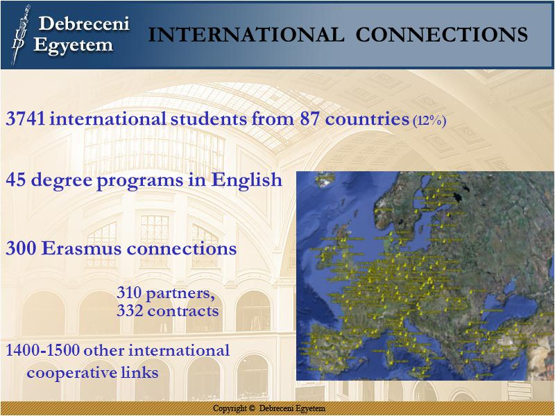 INTERNATIONAL CONNECTIONS