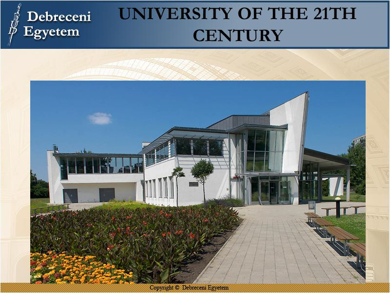 UNIVERSITY OF THE 21TH CENTURY