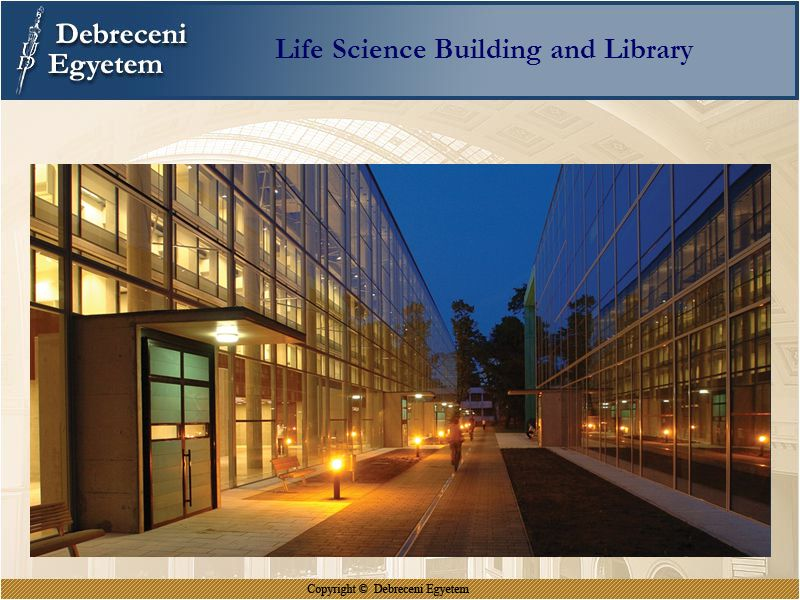 Life Science Building and Library