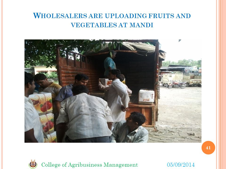 Wholesalers are uploading fruits and vegetables at mandi