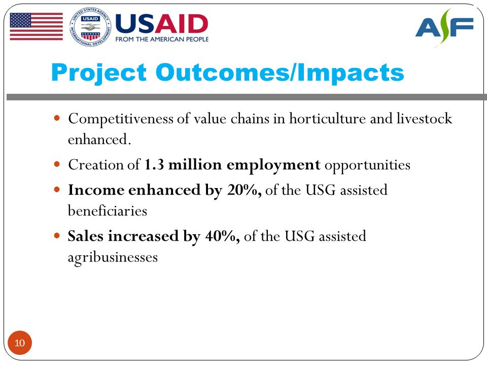 Project Outcomes/Impacts