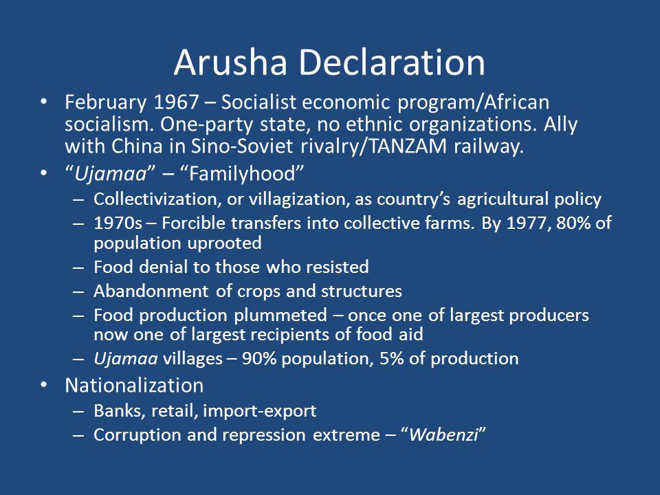 Arusha Declaration