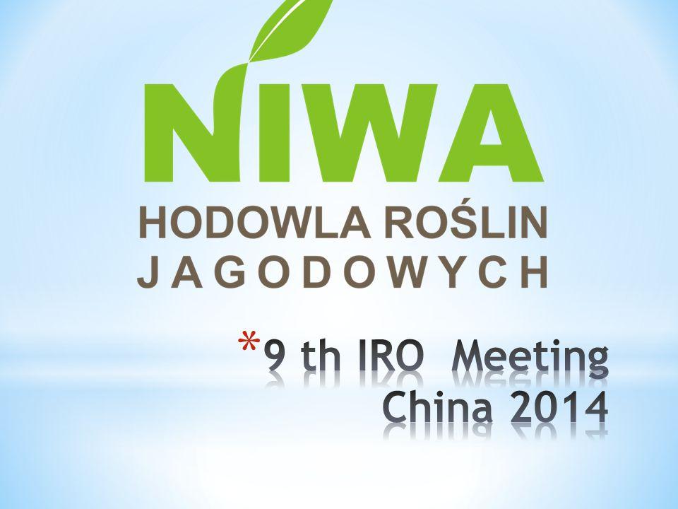 9 th IRO Meeting China 2014