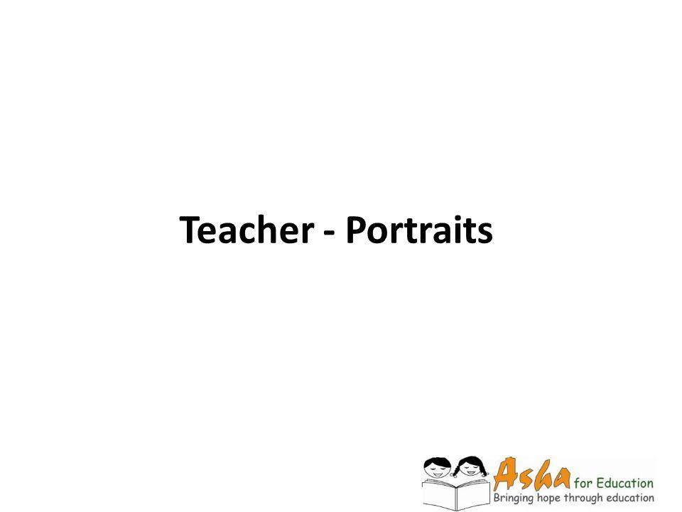 Teacher - Portraits