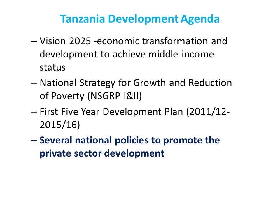 Tanzania Development Agenda